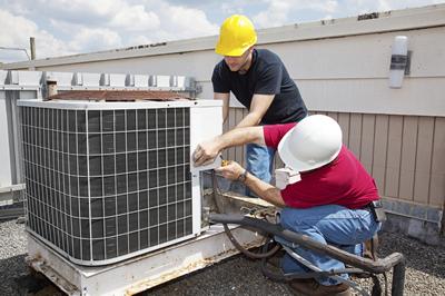 Manutenção em equipamentos de climatização